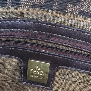 Fendi Bags - FENDI VINTAGE ZUCCA BAGUETTE SHOULDER BAG